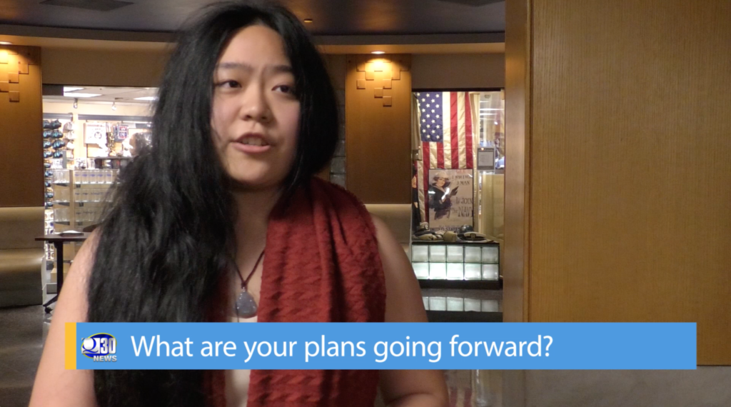 Q30 Newscast: Helen Dong Interview Following Removal from Sophomore Class Cabient