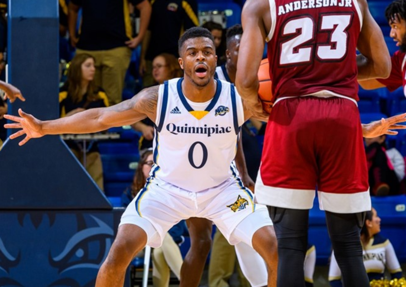 Aaron Robinson looks to make a name for himself on Quinnipiac men's basketball team
