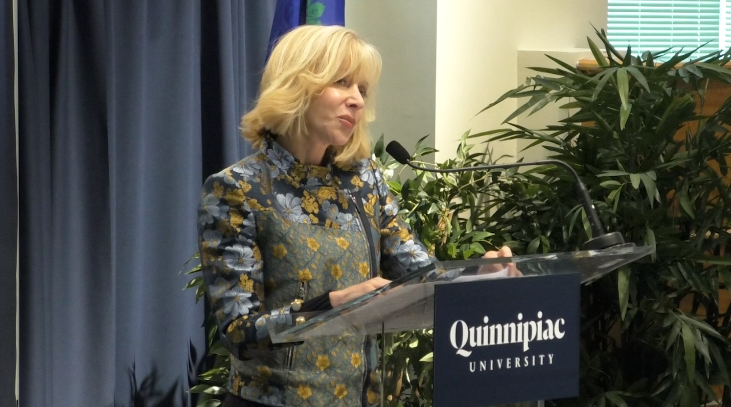 Q30 Newscast: Judy Olian named Quinnipiac's ninth president