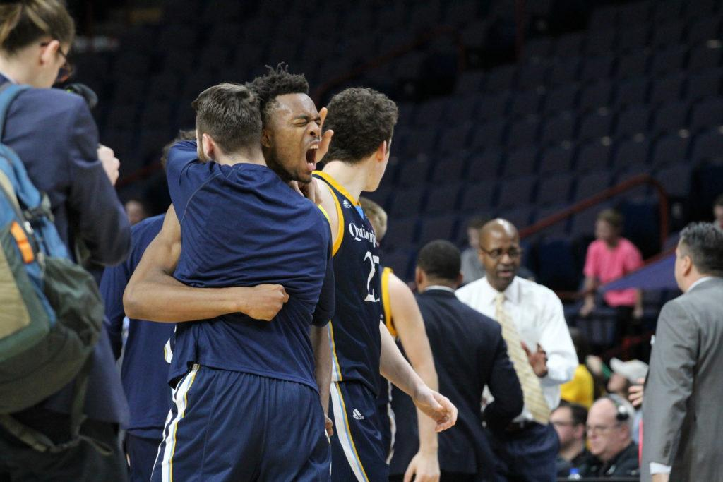Quinnipiac shocks No. 2 seeded Canisius 72-69 to advance to the MAAC semis