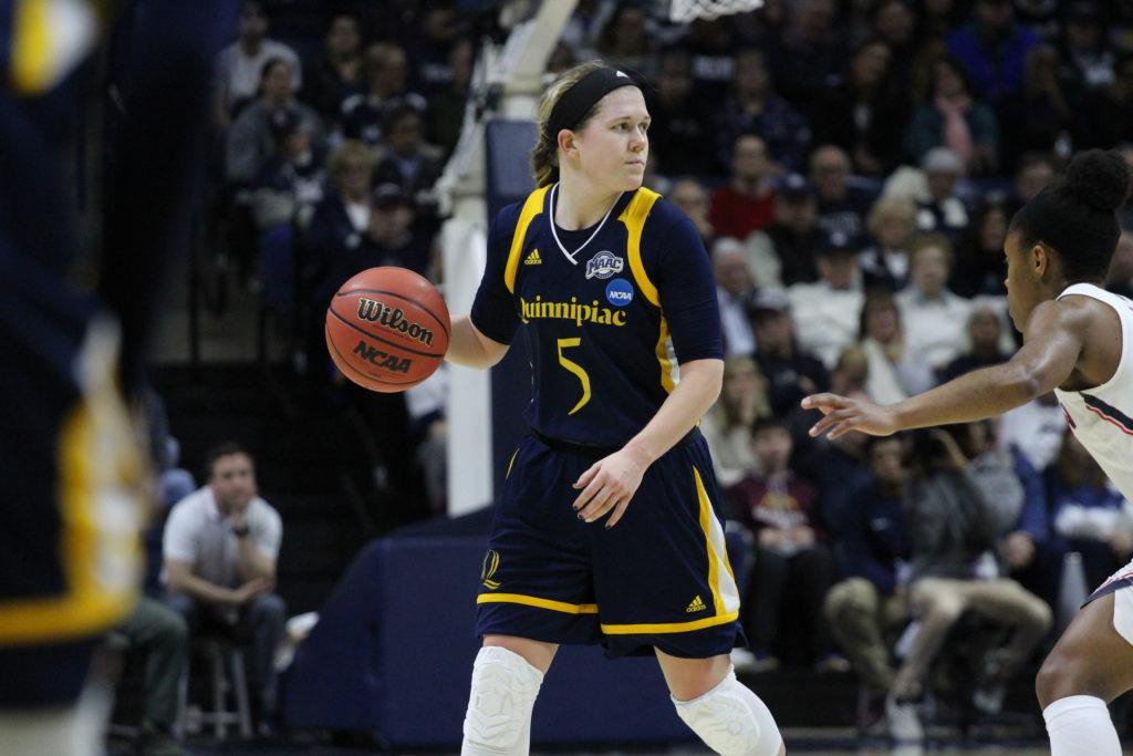 A class of her own: Carly Fabbri leaves Quinnipiac womens basketball better than she found it