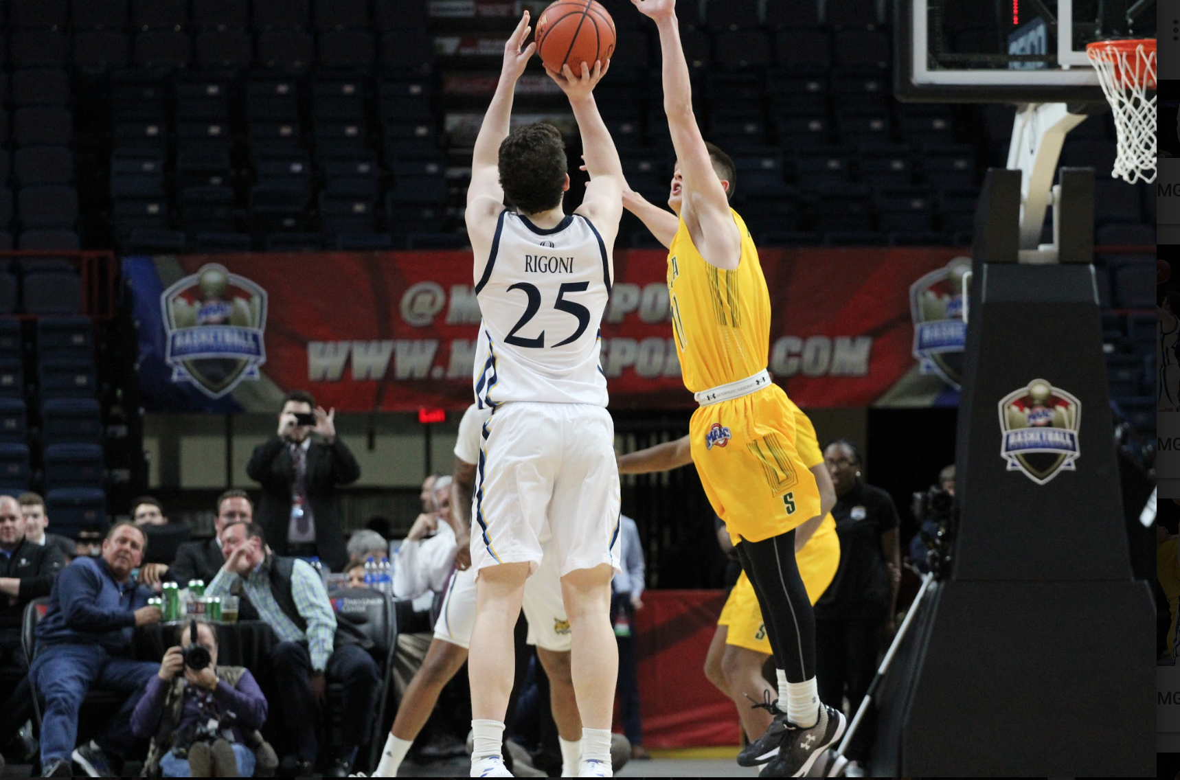 Quinnipiac beats Siena in first round of MAAC Tournament