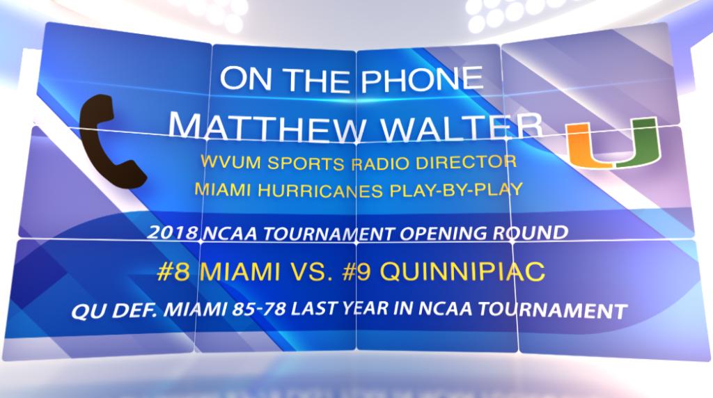 Revisiting Miami: Quinnipiac's NCAA opening round opponent
