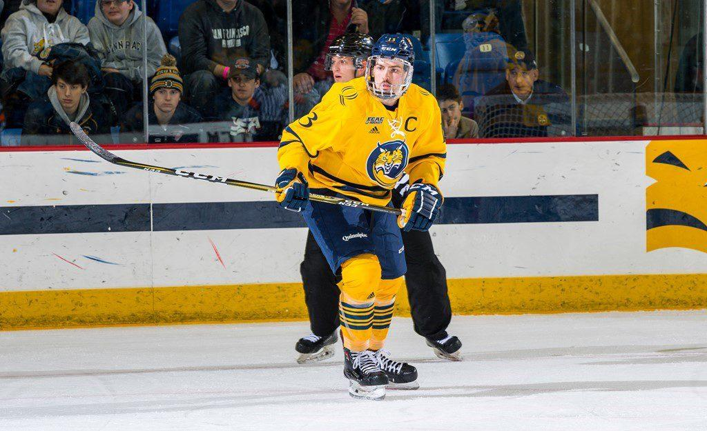 Quinnipiac takes game 1 against rival Yale