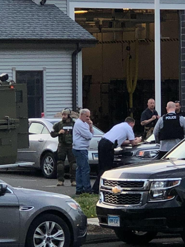 North Haven explosion and hostage situation