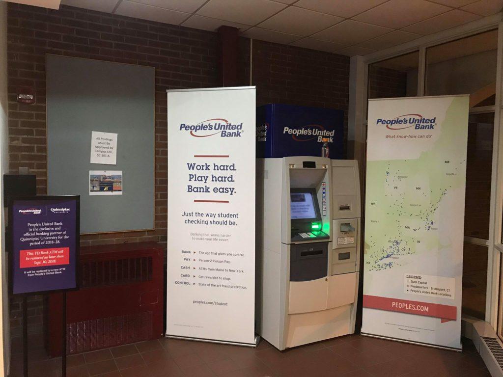 Quinnipiac begins People United Bank transition