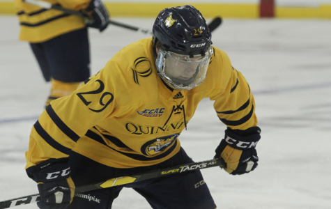 Quinnipiac men's ice hockey responds to it's first loss of the season