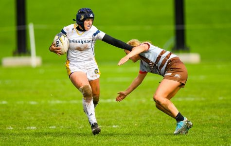 Quinnipiac rugby defeats Notre Dame College in NIRA quarterfinals 46-5