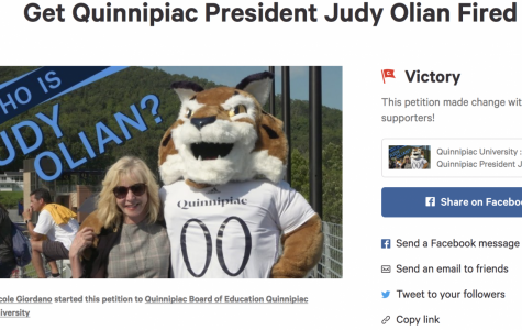 Quinnipiac student creates petition to fire President Olian