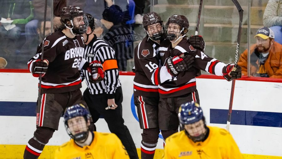 Brown stuns No. 4 Quinnipiac at Home