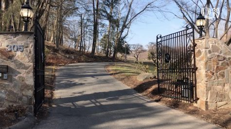 Q30 News exclusive: video of the university president's property