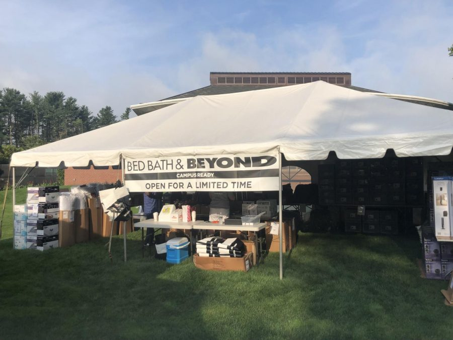 Quinnipiac+Bookstore+Hosting+Bed+Bath+%26+Beyond+Pop+Up+Shop+for+Move-In