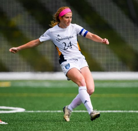 Women's soccer remains undefeated at home after shutout of Hartford