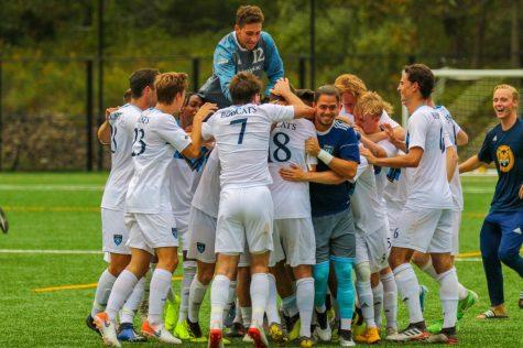 The Rebound: Bobcats top Peacocks in men's soccer thriller