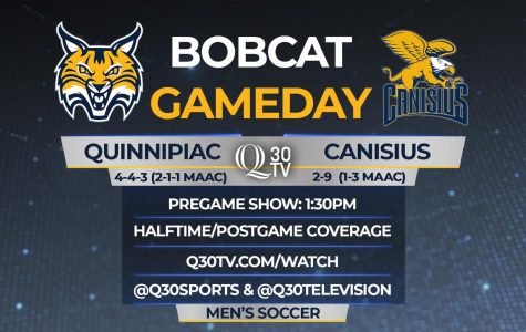 Q30 presents Bobcat Gameday for Quinnipiac's battle with Canisius