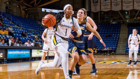 Quinnipiac women's basketball's Vanessa Udoji out for the season