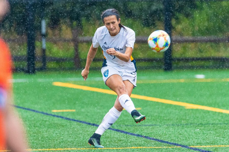 Senior day win for Quinnipiac women's soccer