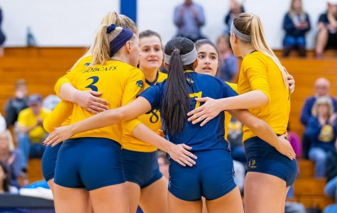 Bobcats volleyball split the weekend at home