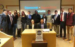 Quinnipiac Democrats and College Republicans hold a debate