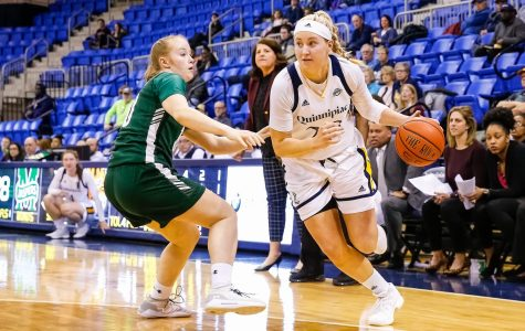 Warfel leads Bobcats to first win of the year over Bucknell
