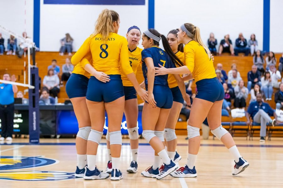 Quinnipiac volleyball sweeps Saint Peter's Saturday afternoon