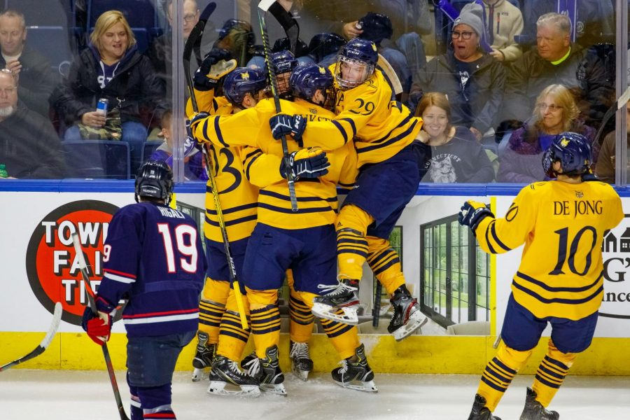 Quinnipiac opens CT Ice Tournament with win over UConn