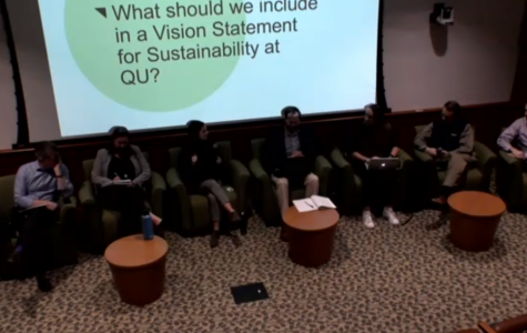 University hosts sustainability town hall