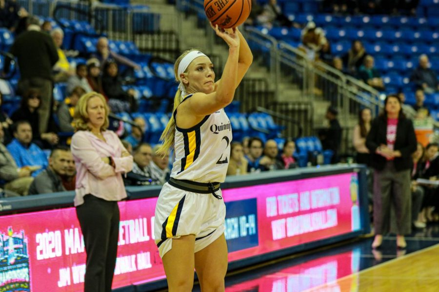 Quinnipiac women's basketball wins nail-biter over Saint Peter's