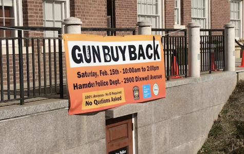 Hamden hosts first gun buy back event