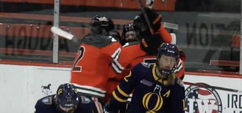 Princeton all over Quinnipiac in game one of ECAC women's hockey quarterfinals