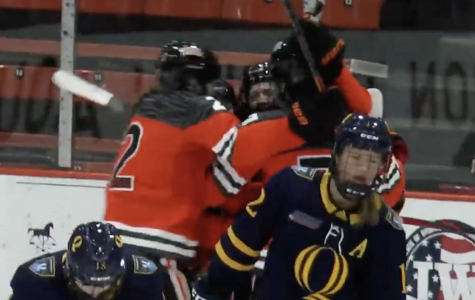 Princeton all over Quinnipiac in game one of ECAC women's hockey quarterfinals