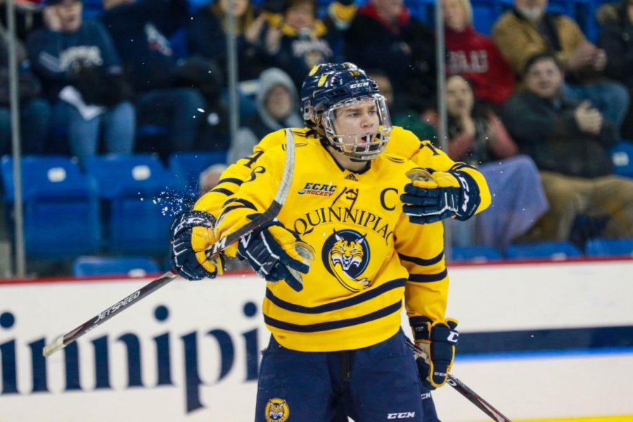 Quinnipiac+shuts+out+Yale+5-0+in+Battle+of+Whitney+Avenue