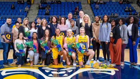 A senior class to be remembered at Quinnipiac