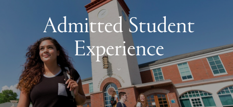 "Quinnipiac's first virtual ""Admitted Student Experience"""