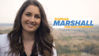 Sophia Marshall elected as 2020-2021 SGA president