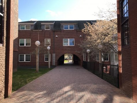 Ledges, first-year residence hall; Photo courtesy: Hephzibah Rajan