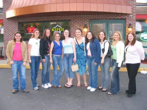 2003-04 -Taylor Mankowski, Erica Conte Spoto, Linor Claire Rosenberg, Lisa Finelli Fallon and Melissa Scagliola