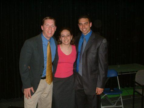 2003-04 - Emilio Sarillo, Greg Glynn and Erica Conte Spoto