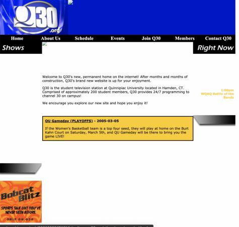 2005 - Q30 Website