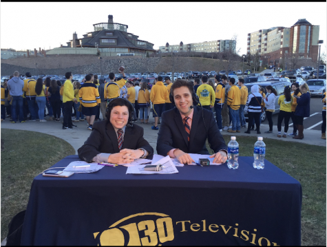 2016- Bobcat Gameday Live from the TD Bank Sports Center. MJ Baird '19 and Andrew Badillo '17