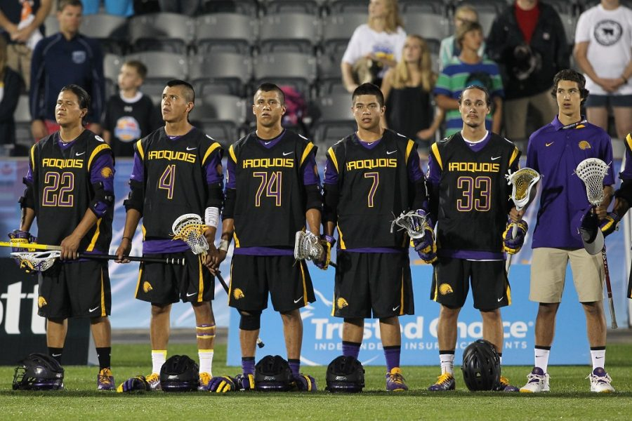 The Iroquois Nationals finished with the bronze medal in the 2014 FIL World Championships held in Denver, Colo. Photo By Scott McCall.