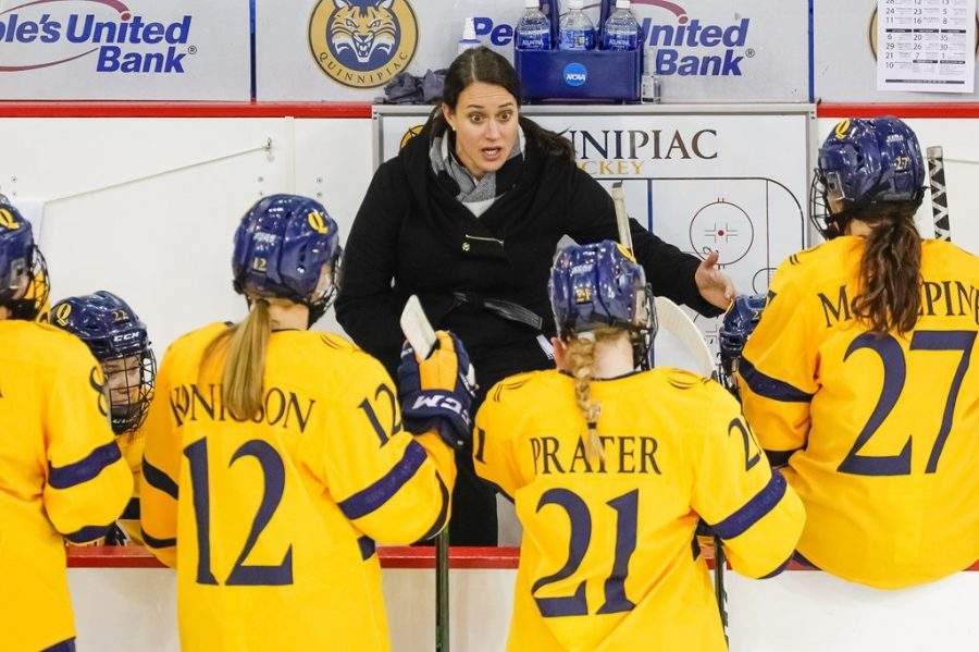 New faces, some familiar, excite Quinnipiac women's ice hockey