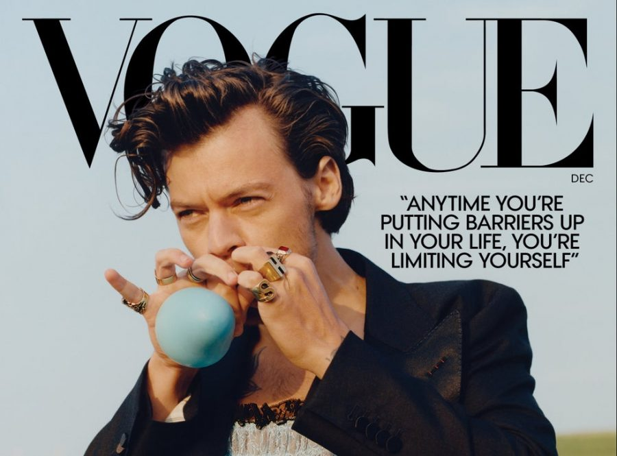 Harry Styles graces the cover of Vogue
