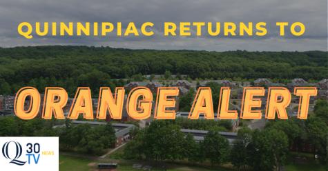 Quinnipiac reverts to orange alert as COVID-19 cases decrease