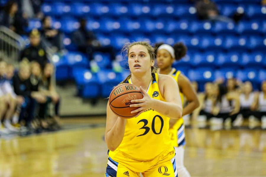 Quinnipiac Women's Basketball Splits First MAAC Series With Manhattan