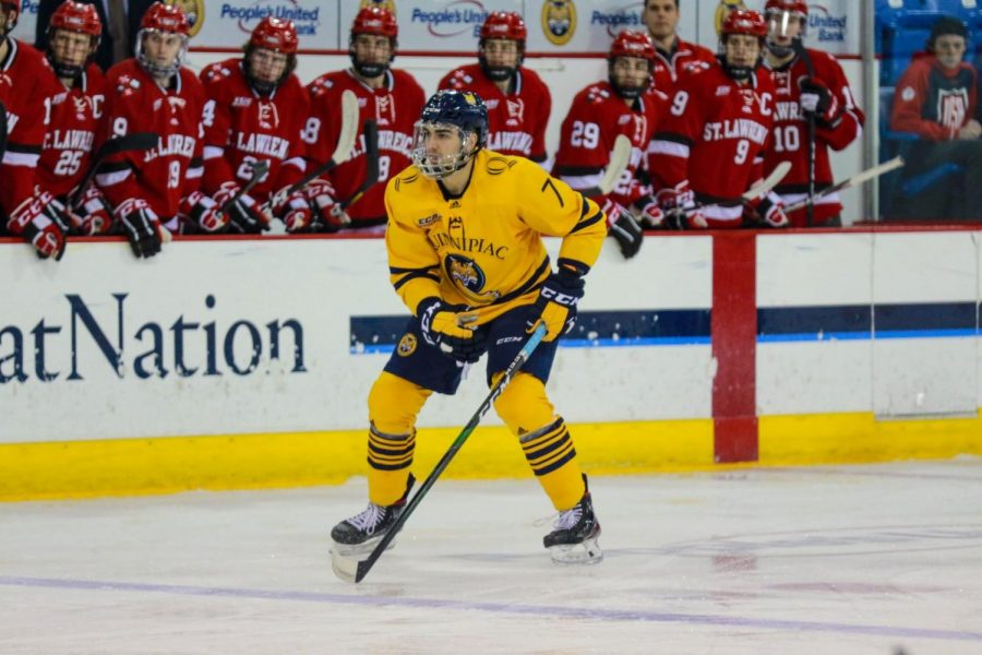 Quinnipiac Men's Ice Hockey to Host Powerhouse Bowling Green This Weekend
