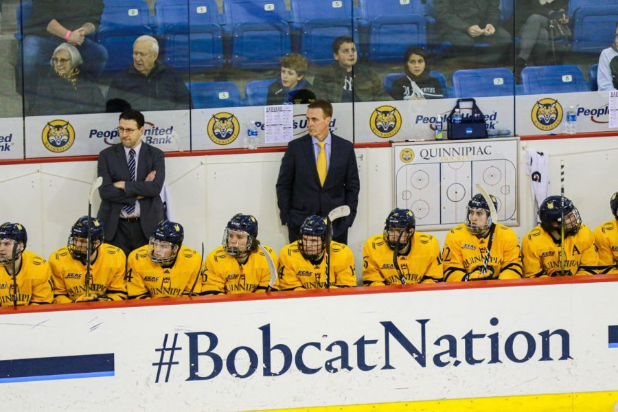 Quinnipiac Men's Ice Hockey Splits Series With St. Lawrence