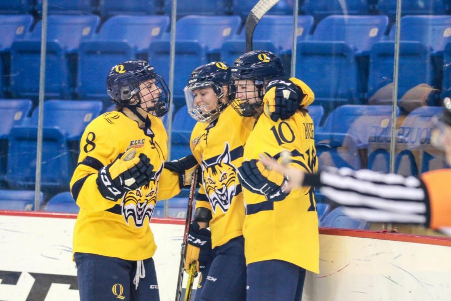 Quinnipiac+Women%27s+Ice+Hockey+Remains+Undefeated+Out+of+Conference