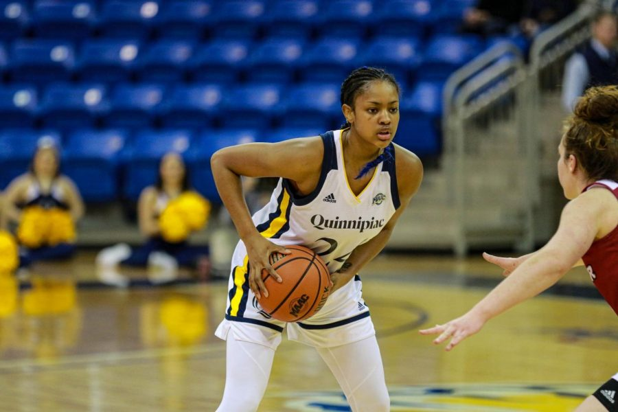 Junior Amani Free Takes Scoring, Leadership Role for Quinnipiac