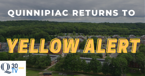 Quinnipiac moves to yellow campus risk level